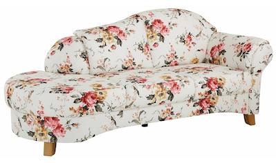 Home affaire Recamiere »Mayfair«, mit Blumenmuster, freistehend, wahlweise Armlehne... kaufen