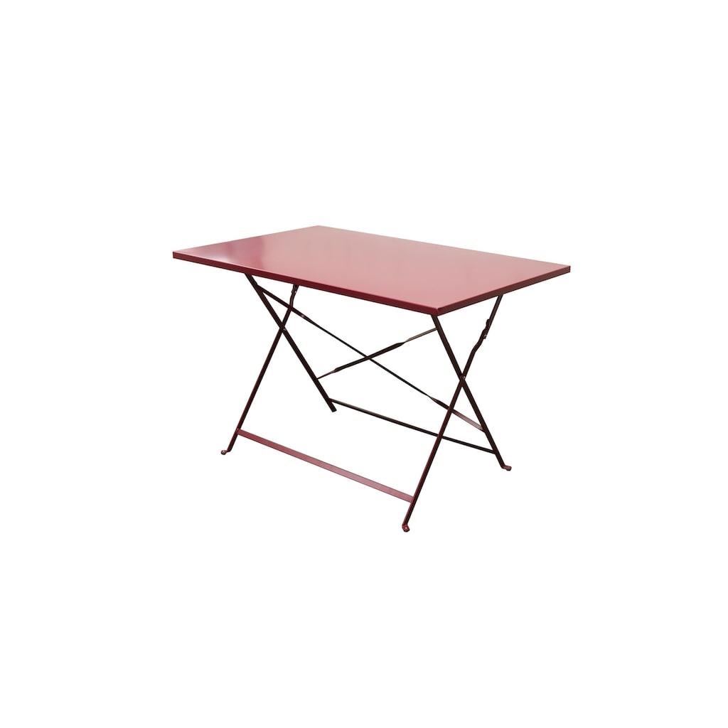 Gartentisch »Rio, Rot«