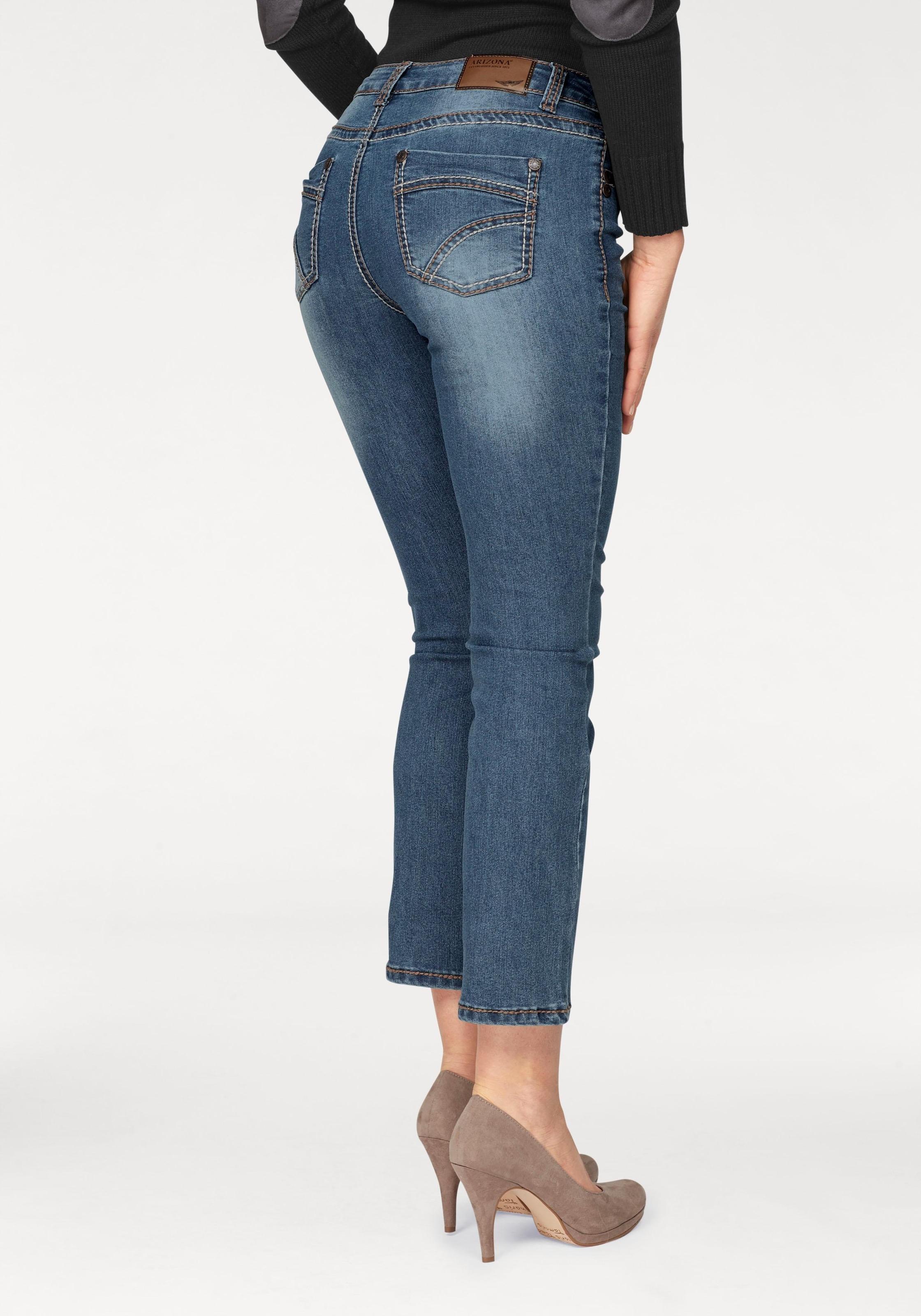 Image of Arizona 7/8-Jeans »mit Kontrastnähten«