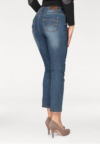 Arizona 7/8 - Jeans »mit Kontrastnähten« kaufen