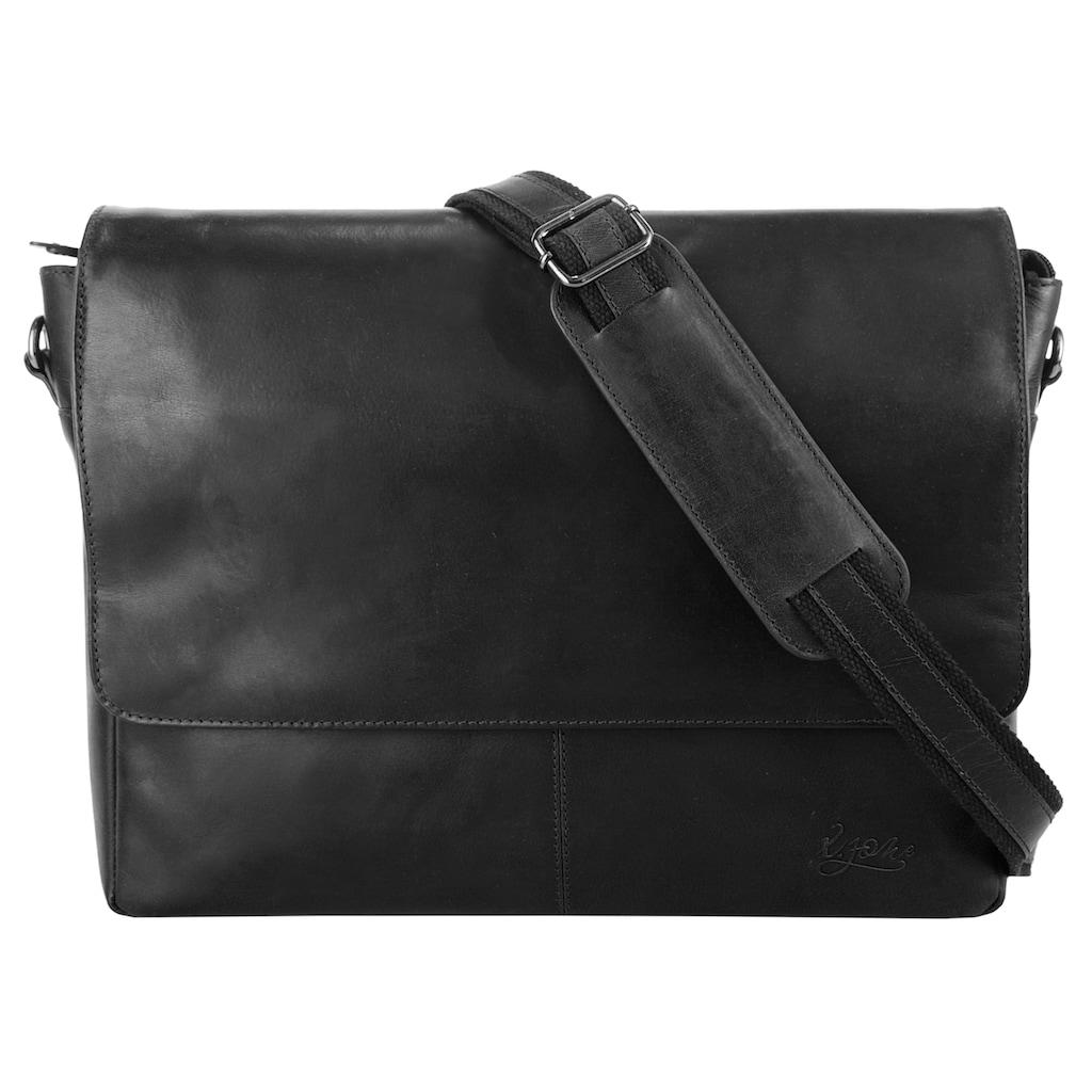 X-Zone Messenger Bag, vegetabil gegerbt