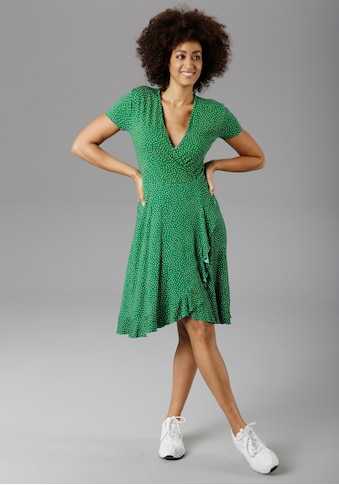 Aniston SELECTED Sommerkleid, mit Rüschenverzierung - NEUE KOLLEKTION kaufen