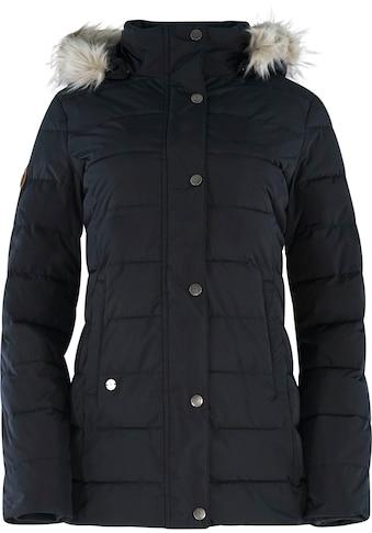 MAZINE Outdoorjacke »Hazelton Down Jacket«, Kapuze mit Fellimitat kaufen