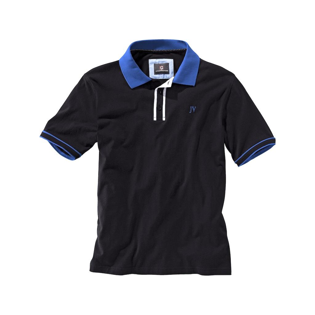 Jan Vanderstorm Poloshirt »ISFRIED«, weiche Baumwolle, Comfort Fit