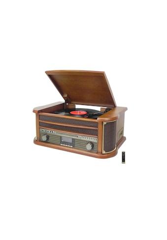 Soundmaster Stereoanlage »NR545DAB Braun Mehrfarbig«, (CD-Bluetooth Digitalradio... kaufen