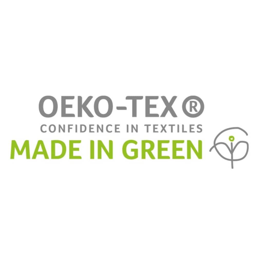 Nobilium Kissenbezug »Carla«, (1 St.), MADE IN GREEN by OEKO-TEX®