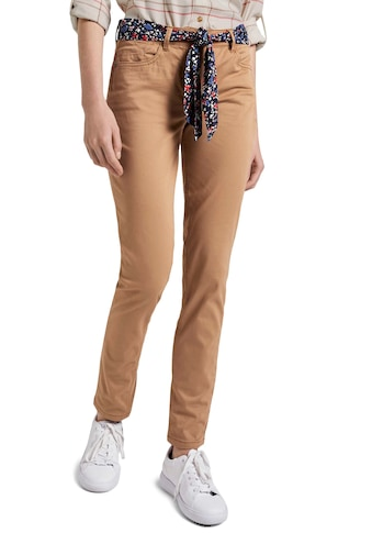 TOM TAILOR 5-Pocket-Hose, (Set, 2 tlg., mit Bindeband), Alexa Slim Fit mit gemustertem... kaufen
