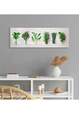 Reinders! Holzbild »Deco Panel 30x90 Kitchen Herbs« kaufen