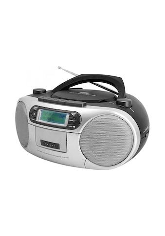 DAB+ Radio Boombox, soundmaster, »SCD7900SW Schwarz Silberfarben« kaufen