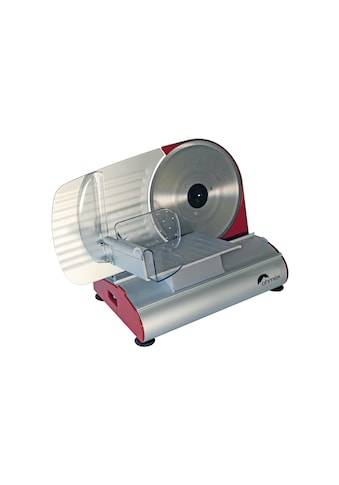 Allesschneider »Mary Silberfarben Rot«, 200 W, Schnittbreite 120 x 150 mm kaufen
