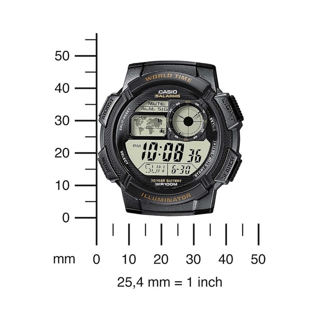 Casio Collection Chronograph »AE-1000W-1AVEF«