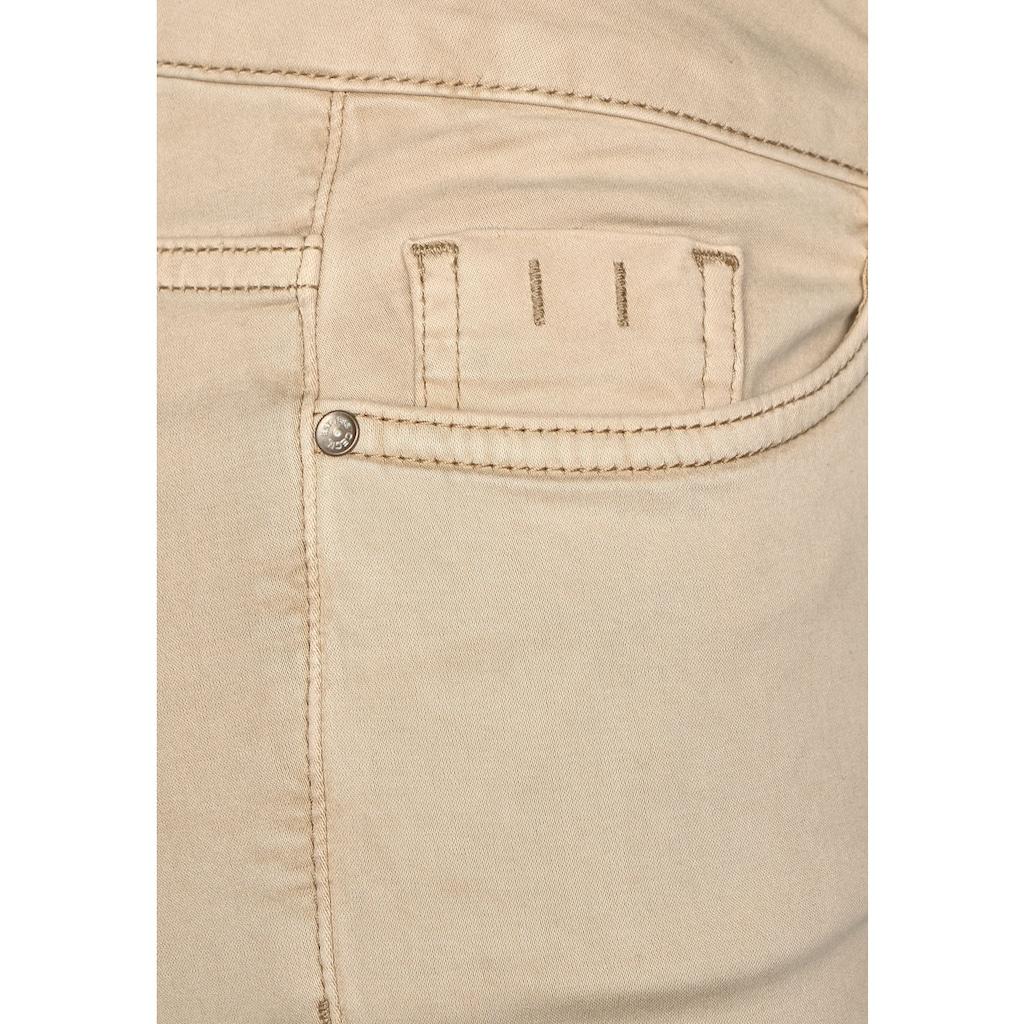 Cecil 5-Pocket-Hose, im elastischen Materialmix