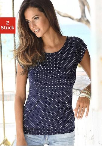 LASCANA Longshirt, mit breitem Bund kaufen