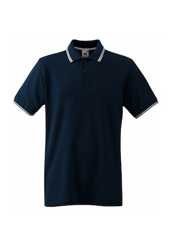 Fruit of the Loom Poloshirt »Tipped Herren Polo - Shirt, Kurzarm« kaufen