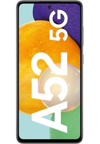 """Samsung Smartphone »Galaxy-A52 5G«, (16,4 cm/6,5 """", 128 GB Speicherplatz, 64 MP Kamera) kaufen"""
