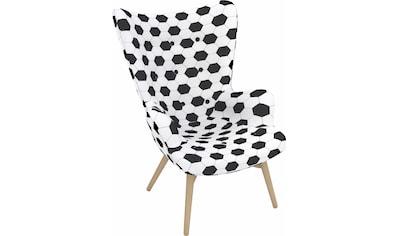 Max Winzer® Sessel »Arne, der Fussballer«, in Schalenform, im Fussball-Look, Hochlehner kaufen