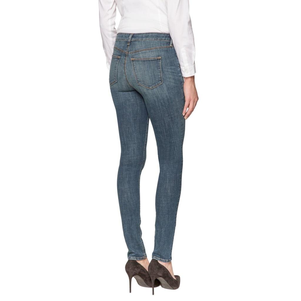NYDJ 5-Pocket-Jeans »in Crosshatch Denim«, Parker Slim