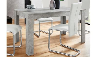 Homexperts Esstisch »Nick«, Breite 140 cm kaufen