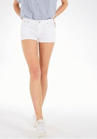 LTB Jeansshorts »JUDIE«, mi gekrempeltem Saum kaufen