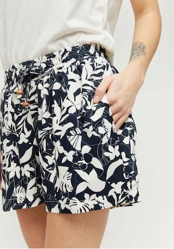 MAZINE Shorts »Palm«, kurze Hose mit Seitentaschen & Perlen-Details kaufen