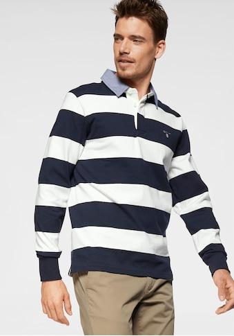 Gant Rugbyshirt »Barstripe Heavy Rugger«, sportiver Alltagsstyle kaufen