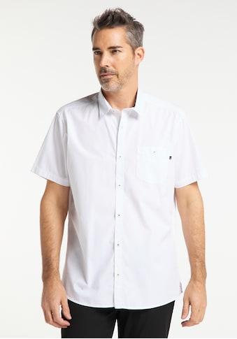 Pioneer Authentic Jeans Herrenhemd Uni Regular Fit kaufen