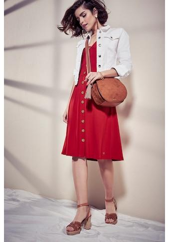 Tamaris Jerseykleid, mit Knöpfen - NEUE KOLLEKTION kaufen