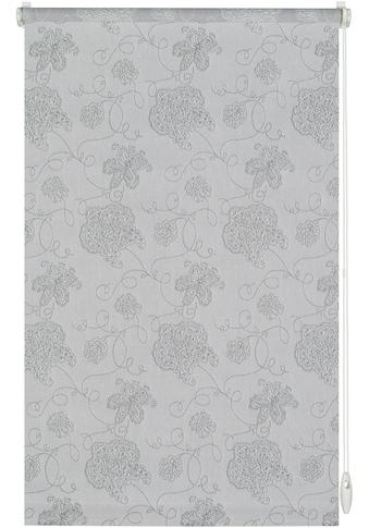 GARDINIA Seitenzugrollo »EASYFIX Rollo Dekor Stickerei«, Lichtschutz, ohne Bohren, im... kaufen