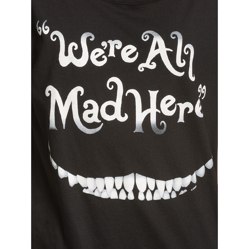 Disney T-Shirt »Alice in W. Mad Here Smile«