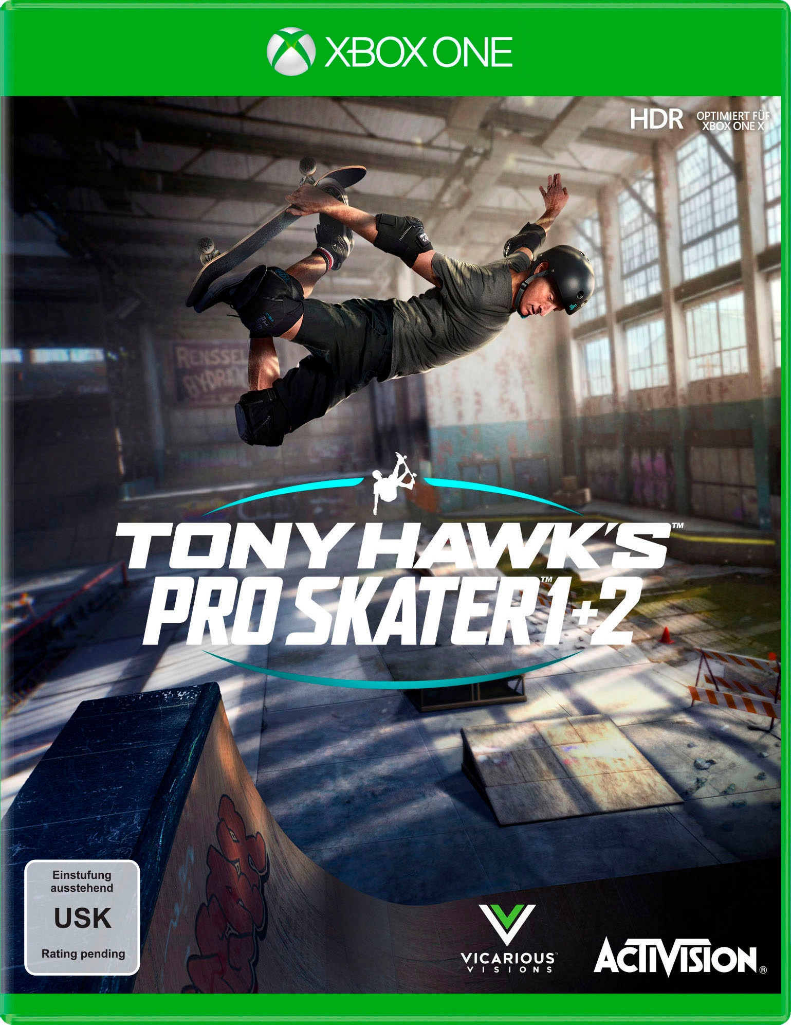Image of Activision Spiel »Tony Hawk 's Pro Skater 1+2«, Xbox One