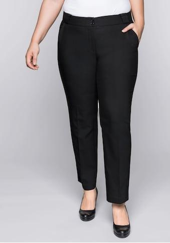 Sheego Stretch-Hose, mit Bügelfalte kaufen