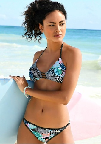 Venice Beach Bikini-Hose »Smash«, mit unifarbener Einfassung kaufen