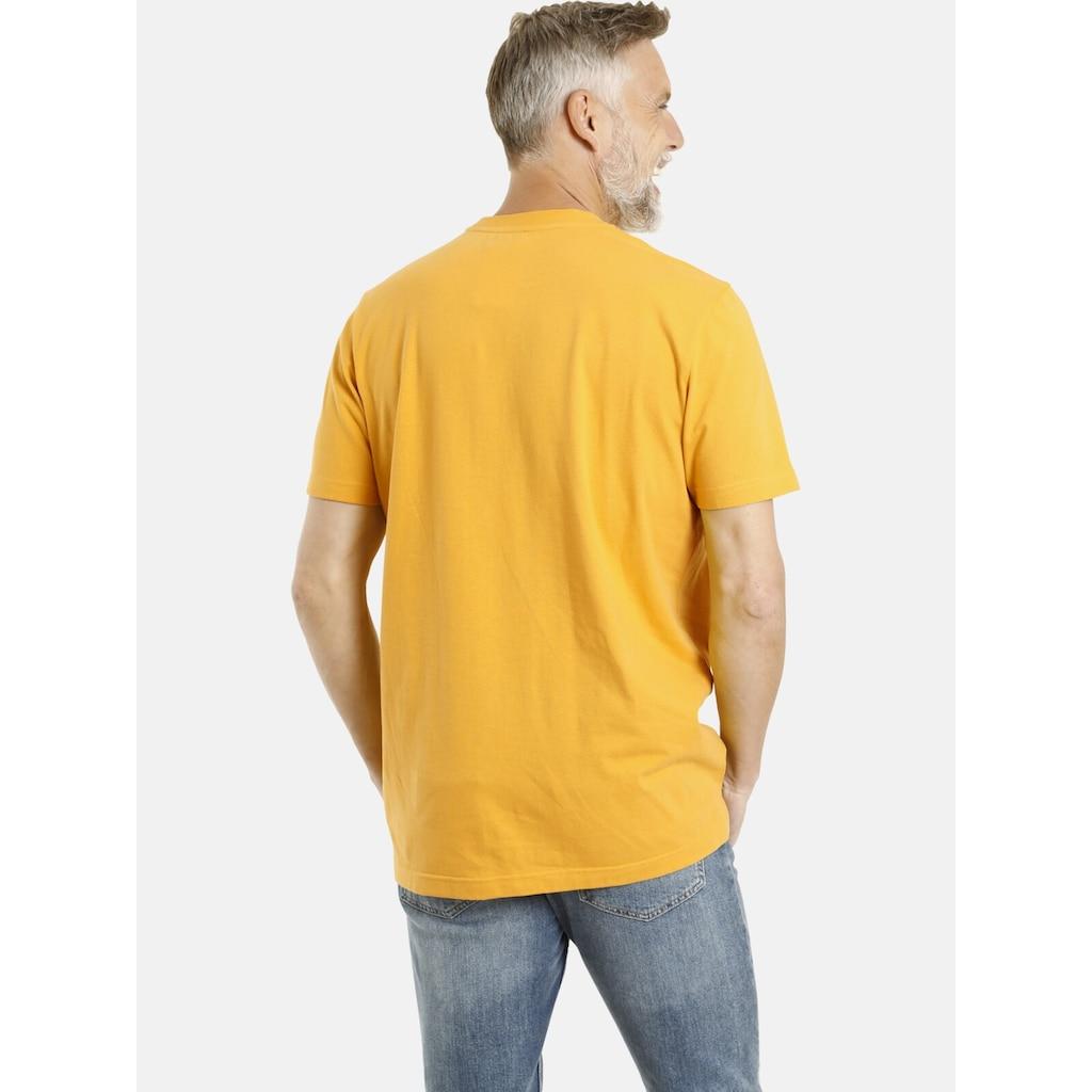 Jan Vanderstorm T-Shirt »GUBBEN«, Baumwollshirt, Comfort Fit