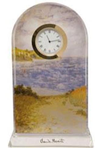 Goebel Tischuhr »Claude Monet, Strandweg Weizenfelder, 66523351« kaufen