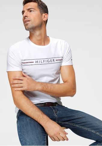 TOMMY HILFIGER T - Shirt »CORP HILFIGER TEE« kaufen