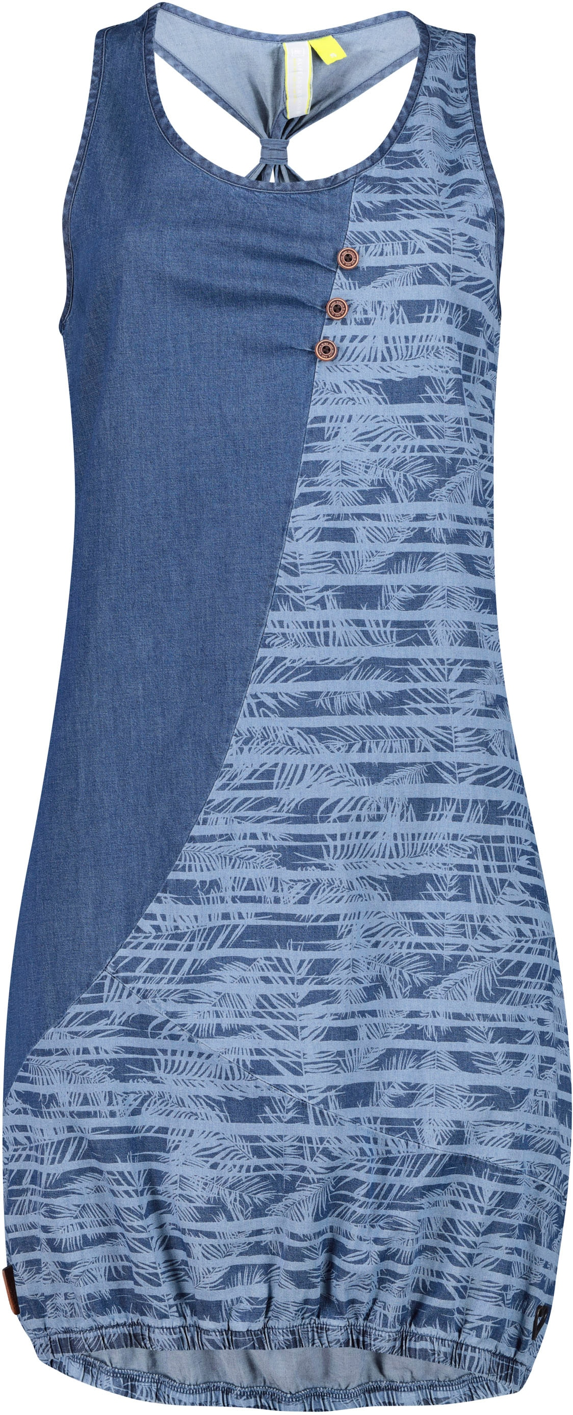 Image of Alife & Kickin Jeanskleid »CameronAK D«, süsses Kleid im Denim-Look mit Print