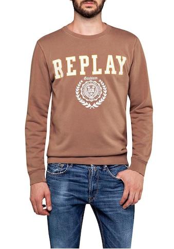 Replay Sweatshirt, im Retro-Look kaufen