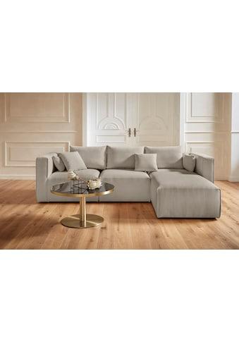 Guido Maria Kretschmer Home&Living Ecksofa »Comfine«, zusammengesetzt aus Modulen, 3... kaufen