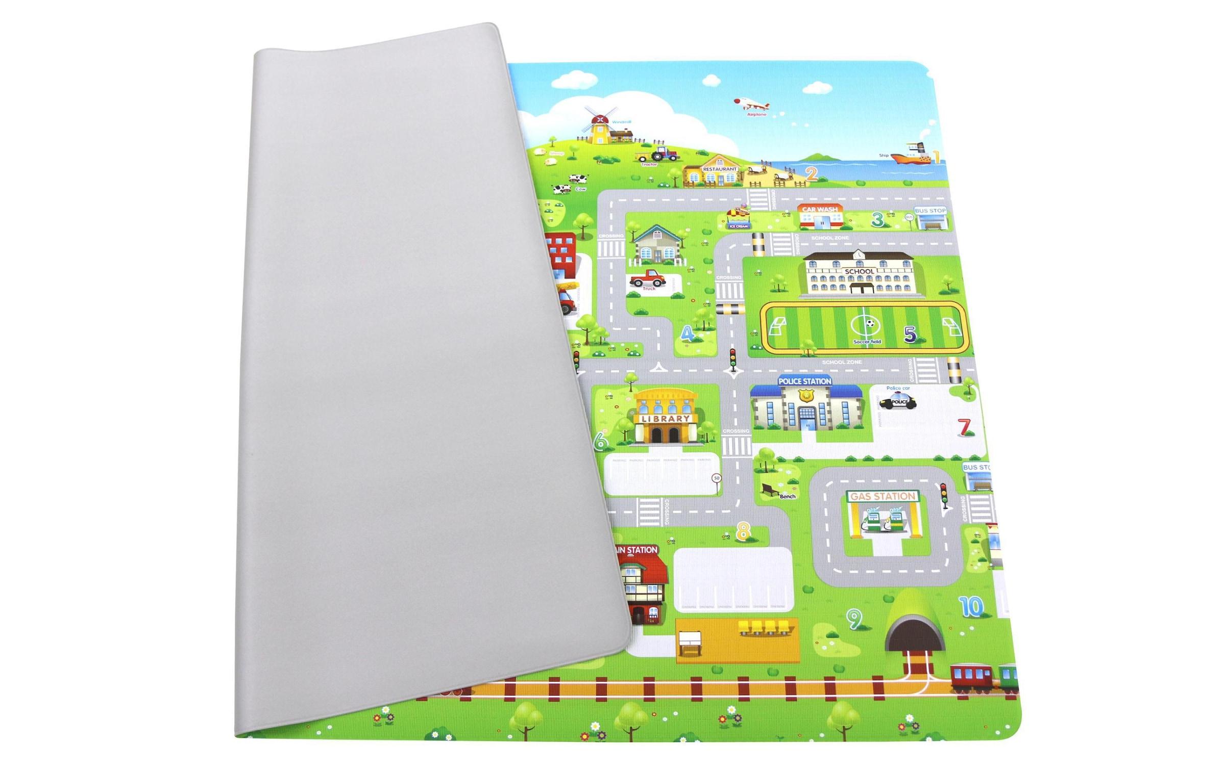Image of BabyCare Spielmatte »Run to town, 185 x 125 cm«