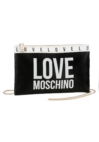 LOVE MOSCHINO Clutch, mit abnehmbarer Umhängekette kaufen