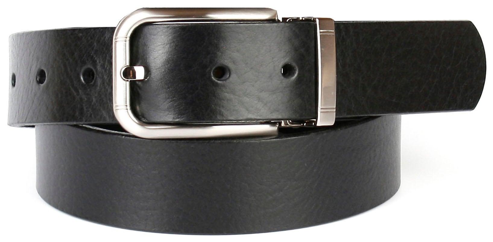 Image of Anthoni Crown Ledergürtel, 3,5 cm breiter Casual-Vollledergürtel