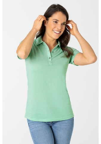 SUPER.NATURAL Poloshirt »W SPORTY POLO«, pflegeleichter Merino-Materialmix kaufen