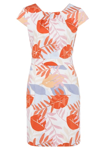 MORE&MORE Leaf Print Dress Active kaufen