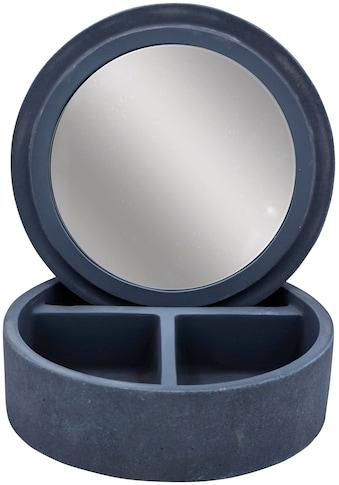 RIDDER Aufbewahrungsbox »Cement«, mit integriertem Spiegel kaufen
