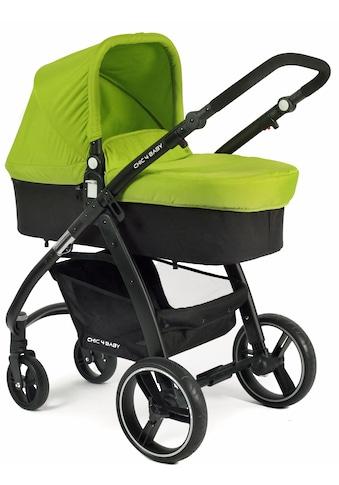 CHIC4BABY Kombi-Kinderwagen »Volare, grün-schwarz«, inklusive Sportsitz; Kinderwagen kaufen