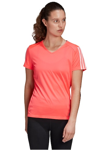 adidas Performance Laufshirt »RUNNING 3-STREIFEN T-SHIRT« kaufen