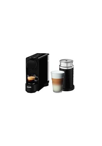 Nespressomaschine, Krups, »XN5118 Essenza Plus Aerochino Schwarz« kaufen
