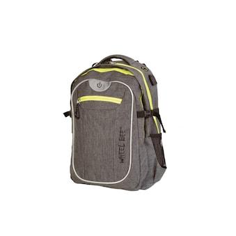 Schulthek, Wheel Bee, »Backpack Revolution Grau« kaufen