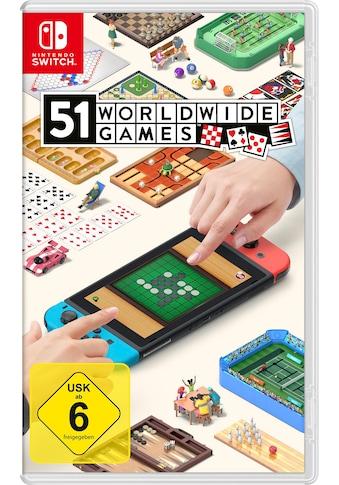 Nintendo Switch Spiel »51 Worldwide Games«, Nintendo Switch kaufen