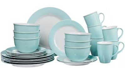 Ritzenhoff & Breker Kombiservice »Doppio«, (Set, 24 tlg.), in attraktiven Farbvarianten kaufen